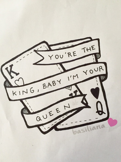 500x667 You'Re The King, Baby I'M Your Queen. On We Heart It