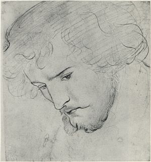 300x323 The Seed Of David (Study For Head Of King David)