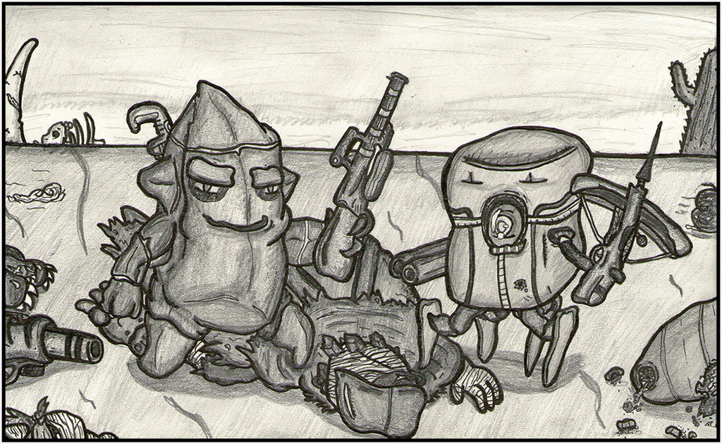 1024x630 King And Queen Of The Wasteland Nuclear Throne By Faulken