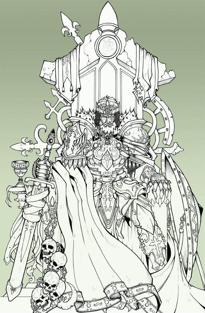 684x1044 King Throne By Dramegar
