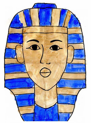 297x400 How To Draw King Tut