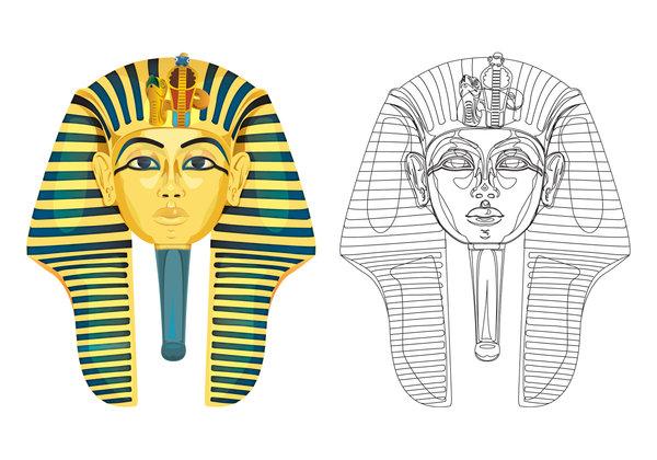 600x420 King Tut Mask By Marwael
