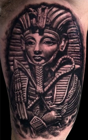 361x575 King Tut Tattoo Timothy B Boor