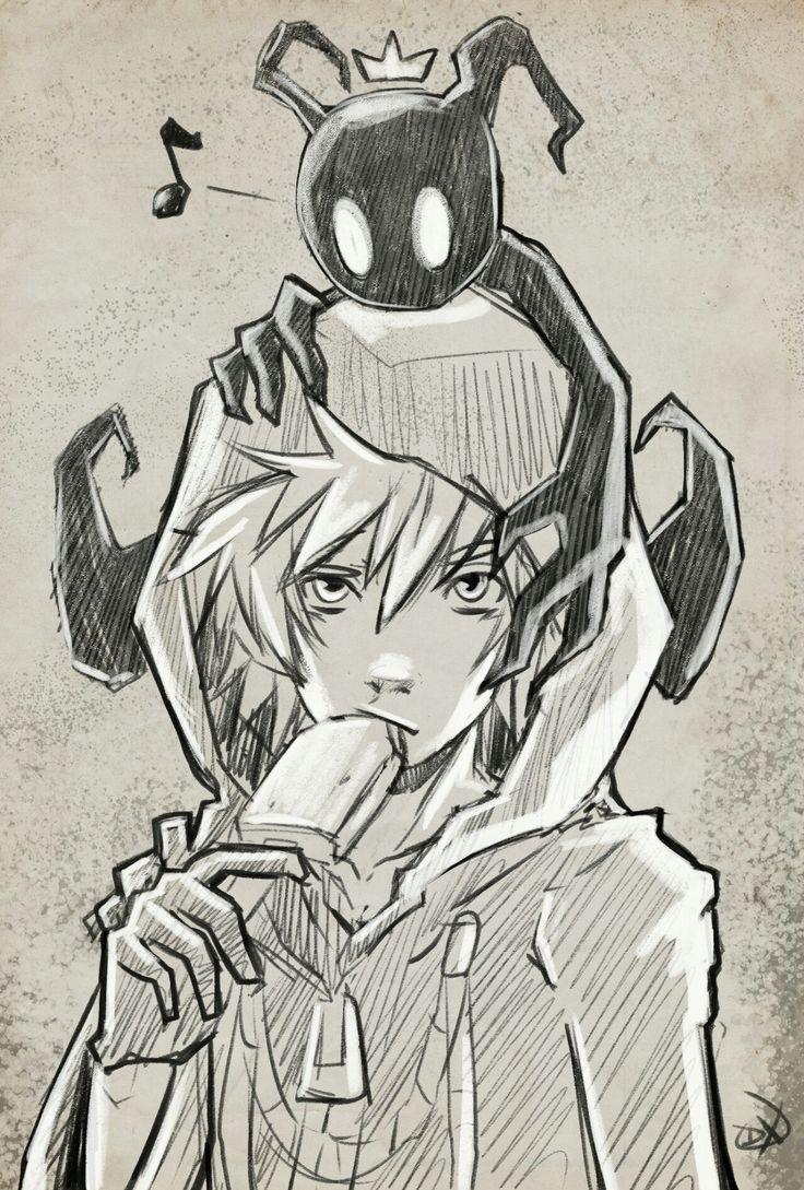 736x1089 Image Result For Kingdom Hearts Sketches Kingdom Hearts