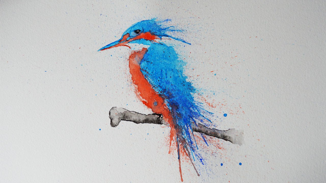 Kingfisher Bird Drawing at GetDrawings.com | Free for personal use ...