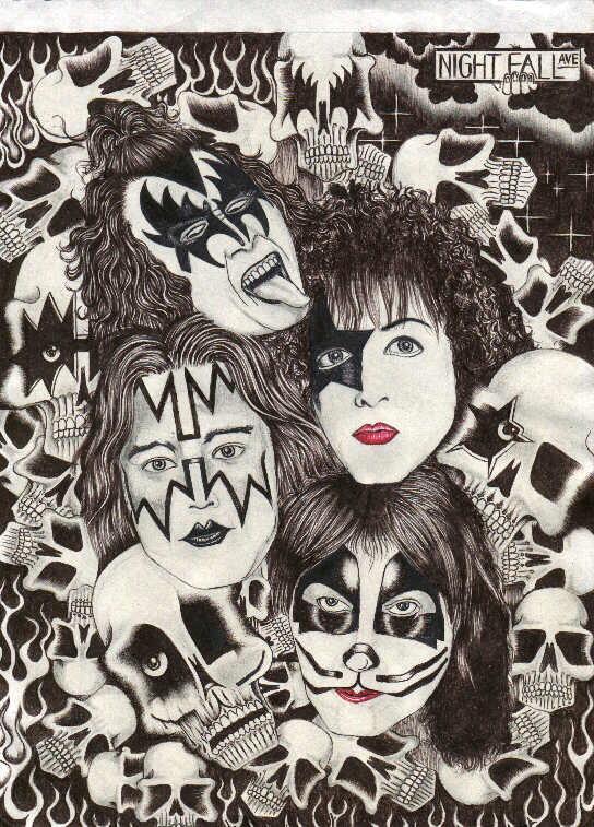 544x757 Kiss Asylum Fan Art Amp Graphics