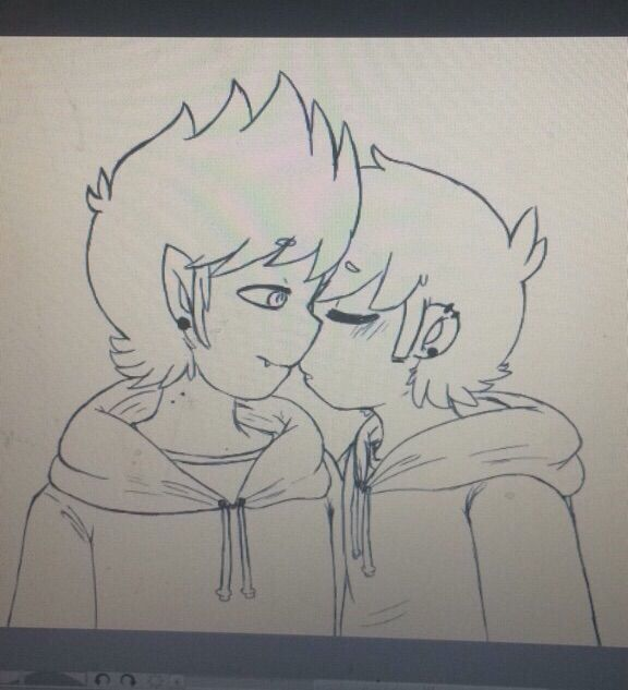 576x633 How Do U Draw Kisses Eddmatt Tho Amino