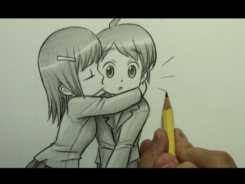 480x360 How To Draw A Chibi Kiss On The Cheek