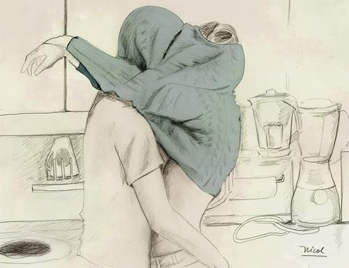 500x385 Couple Kissing Drawing Pictures, Photos, And Images For Facebook