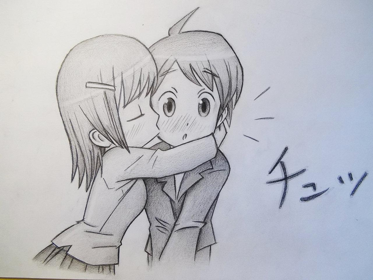1280x960 Boy Girl Kissing Drawing Boy Girl Kissing Drawing Girl