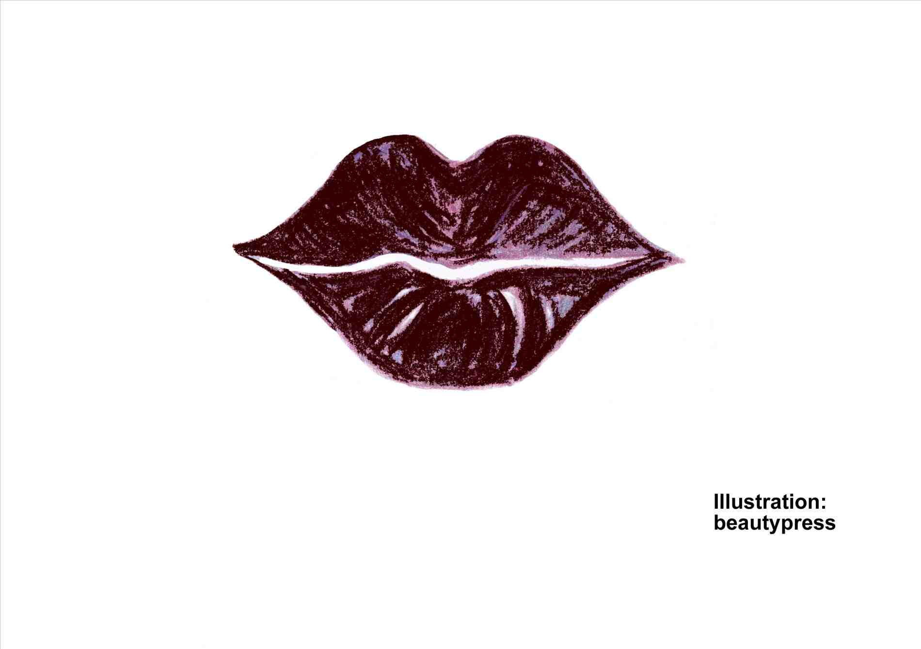 1900x1338 How To Draw Kissing Lips Step By Step