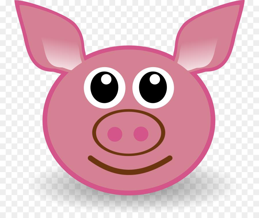 900x760 Pigs Ear Drawing Cartoon Clip Art