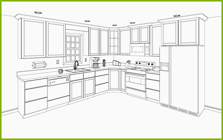 Bon 736x462 8 Fresh Kitchen Cabinet Design Drawing Pictures Kitchen Cabinets