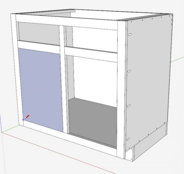 Kitchen Cabinets Drawing at GetDrawings.com | Free for personal use ...