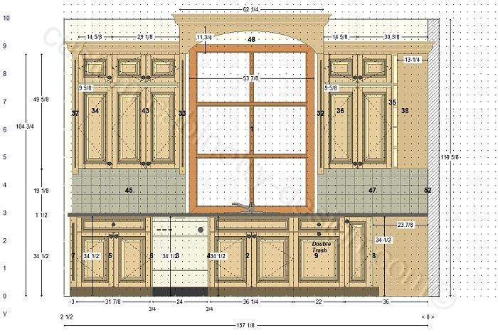 700x471 Cabinetry Floor Plan Elevations, Design Layouts To Build Cabinets