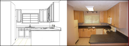 420x150 Custom Kitchen And Bathroom Cabinets Kitchencounters Tallahassee