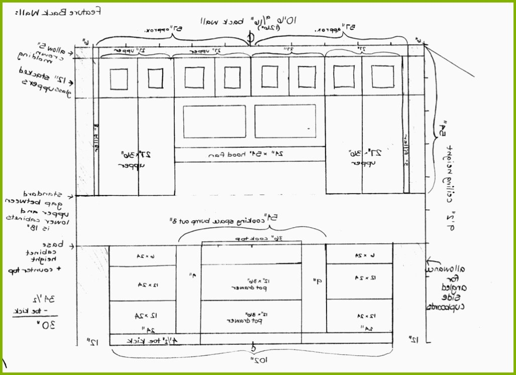 1027x746 Kitchen Base Cabinet Drawing Beautiful Kitchen Remodel Best 25