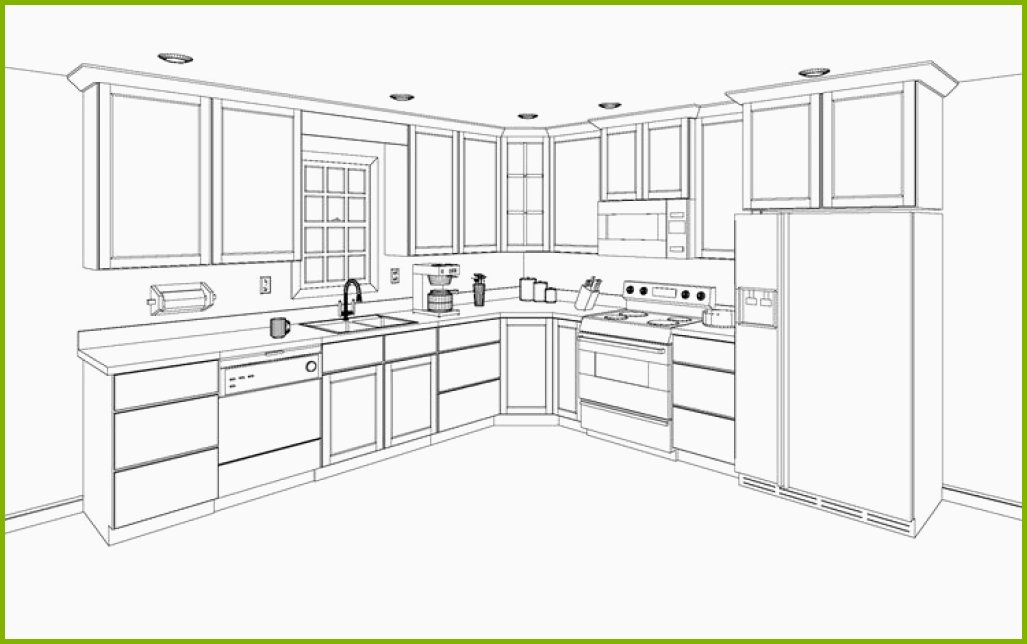 1027x644 Kitchen Base Cabinet Drawing Lovely Furniture Design Kitchen