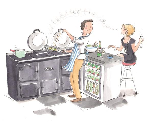 580x480 Aan Tafel! Gaga For Aga Kitchens Aga, Aga Cooker