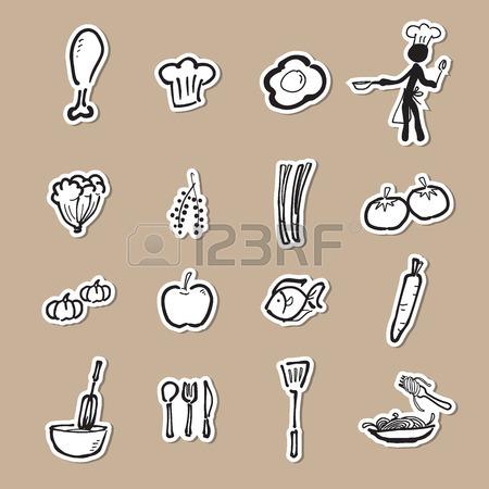450x450 Chef And Kitchen Cartoon Drawing Royalty Free Cliparts, Vectors