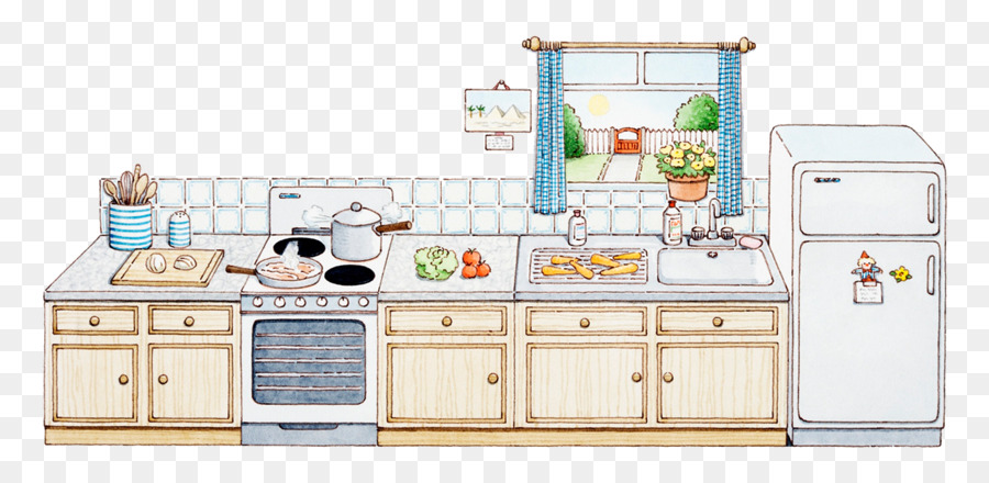 Kitchen Appliance Drawings ~ Kitchen cartoon drawing at getdrawings free for