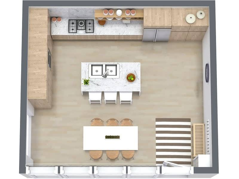 Kitchen Design Drawing At Getdrawings Com Free For Personal Use