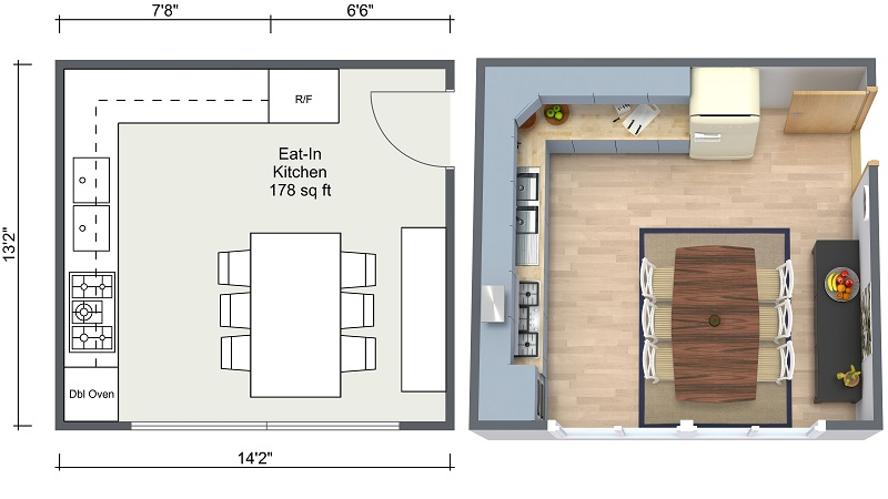 800x450 Kitchen Ideas RoomSketcher