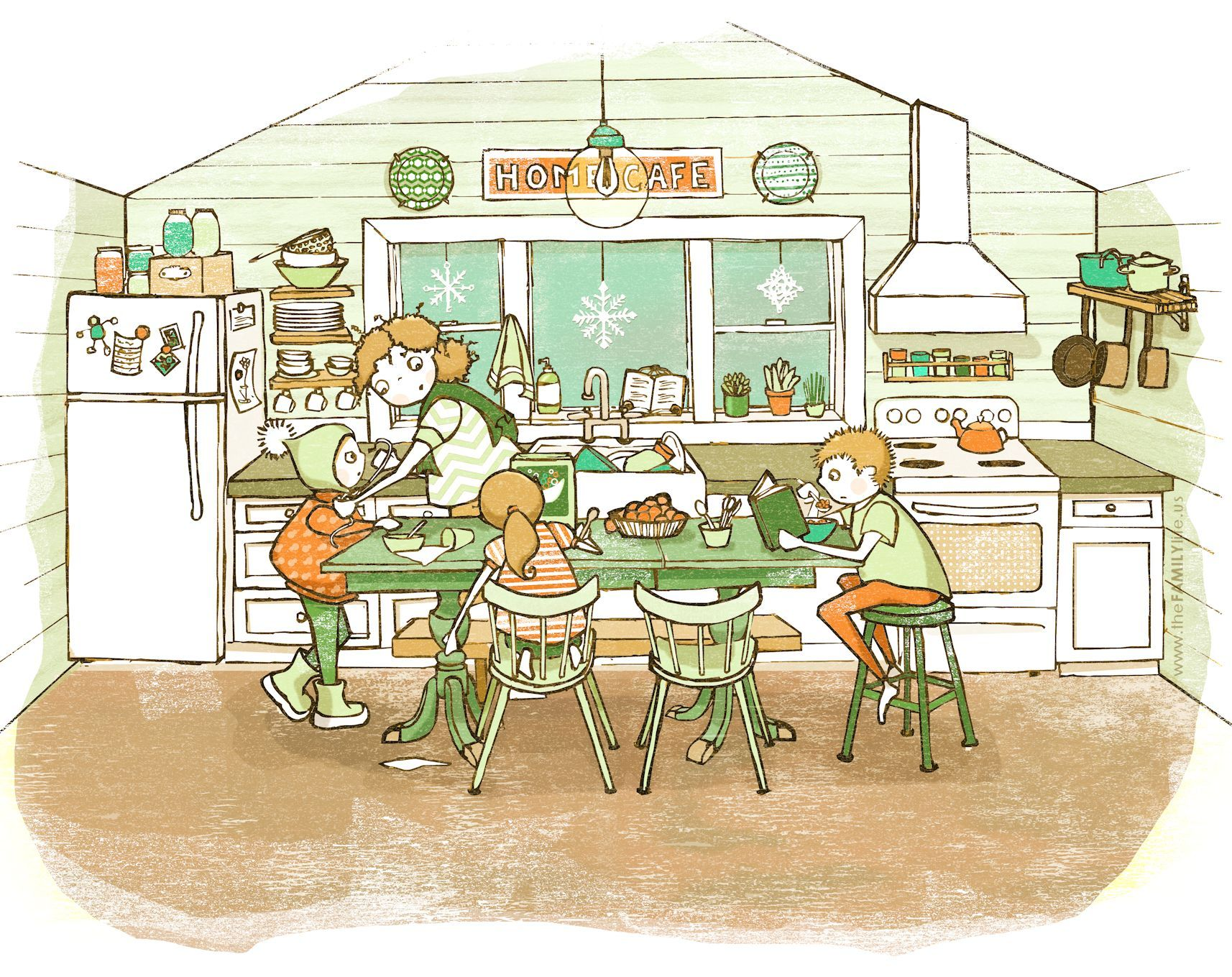 1714x1359 Kitchen Drawing For Kids Kids Pages Kitchen Amusing Inspiration