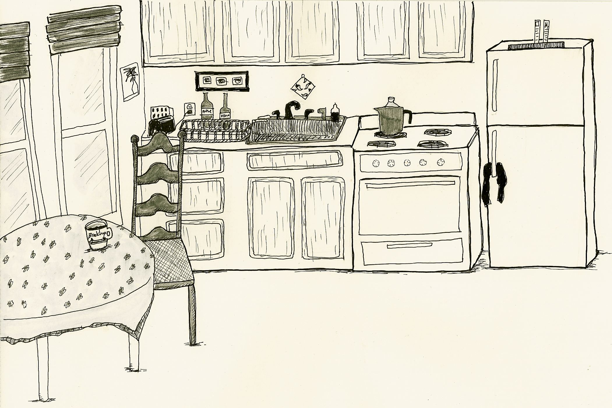 2101x1400 Kitchen Drawing Lev Hardware