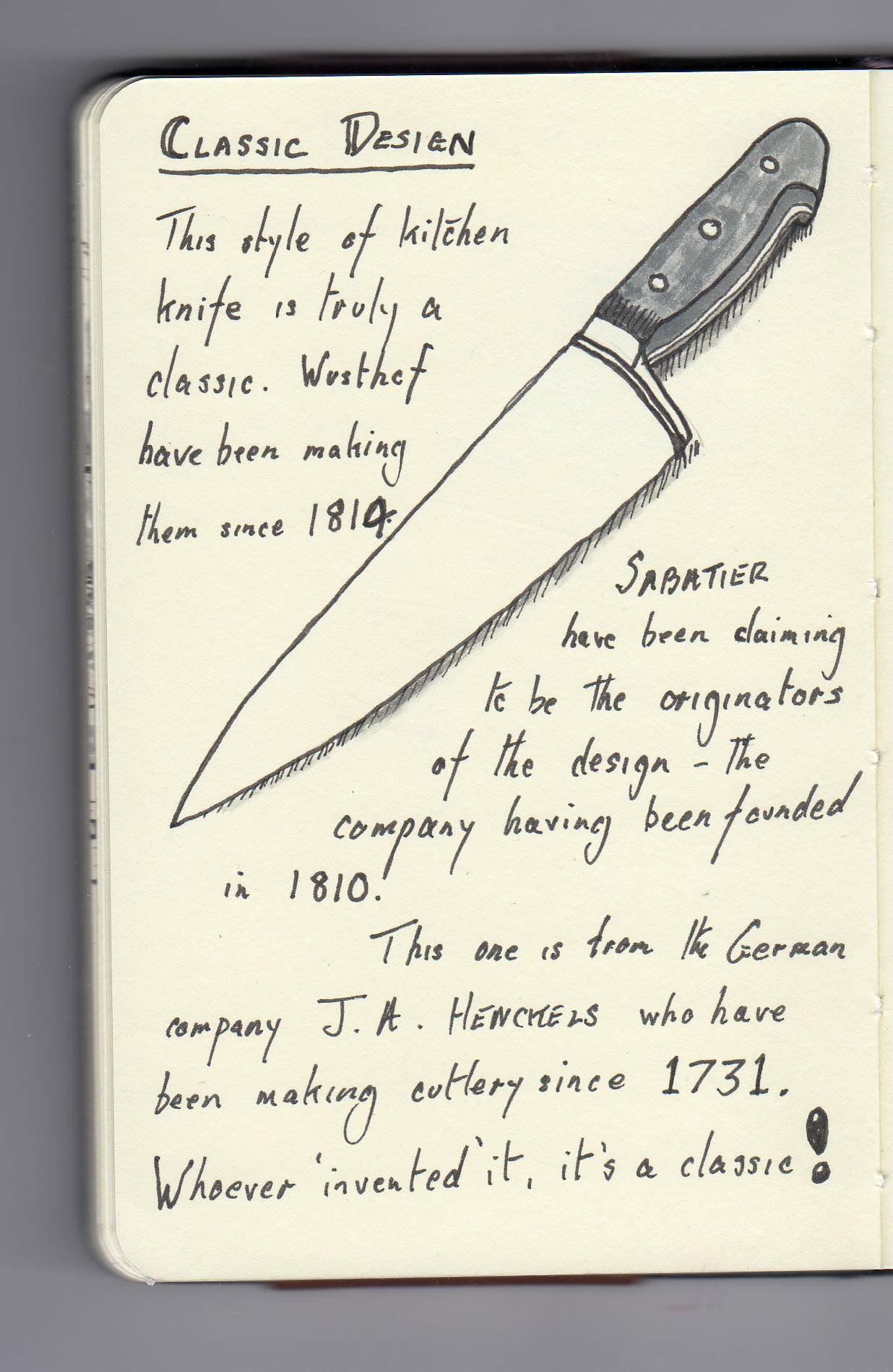 1236x1899 Classic Design The Kitchen Knife Usual Bollocks