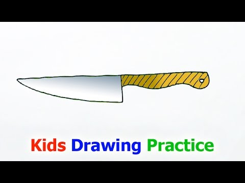 480x360 How To Draw A Knife