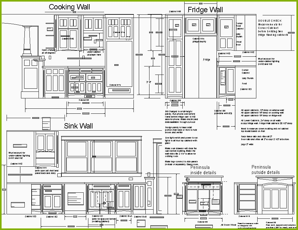 Kitchen Layout Drawing at GetDrawings.com | Free for personal use ...
