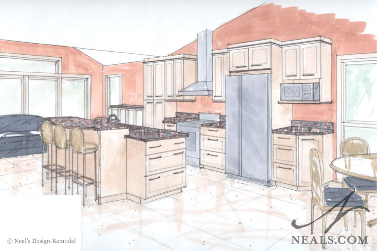 750x500 Contemporary Asian Kitchen Remodel Blue Ash, Oh