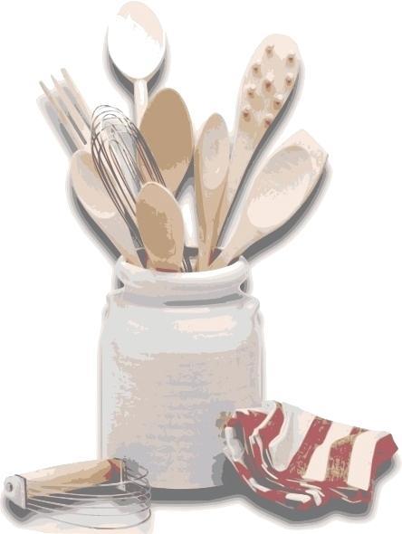 444x590 Kitchen Tools Drawing Kitchen Utensils Drawing Kitchen Utensils
