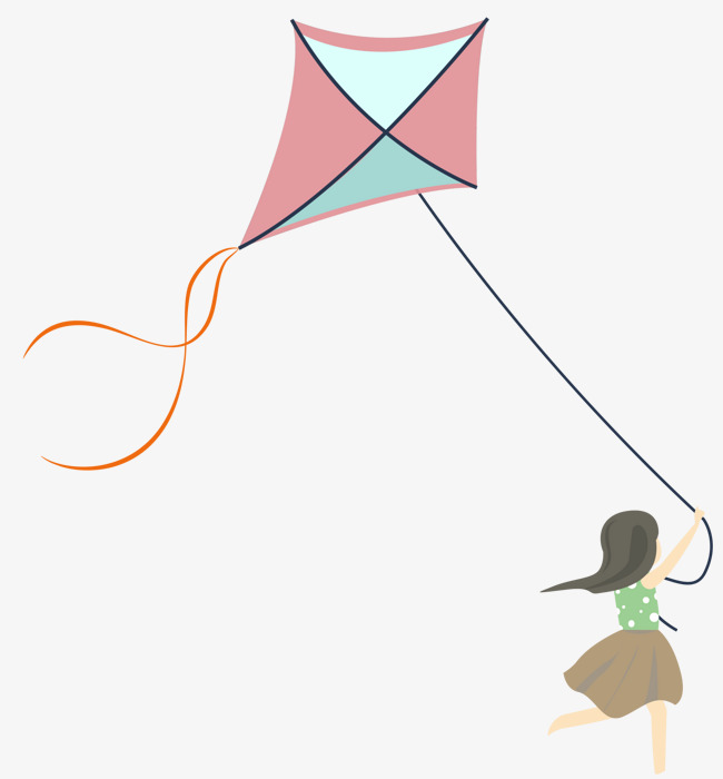 650x700 Kite Flying Child, Fly A Kite, Cartoon Hand Drawing, Children Png