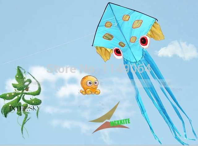 640x474 Free Shipping High Quality New Design Octopus Kites With 100m