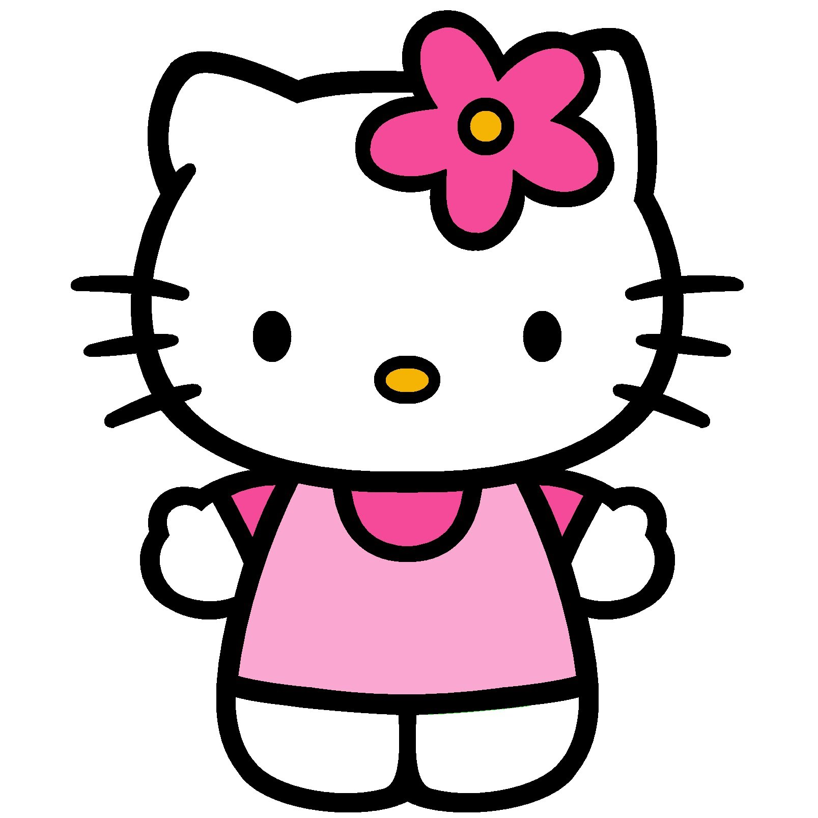 Ausmalbilder Hello Kitty Ballerina : Kitty Drawing At Getdrawings Com Free For Personal Use Kitty