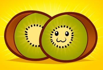 350x237 How To Draw How To Draw Kiwi, Kiwi Fruit