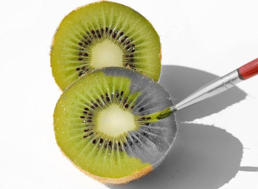 900x658 Kiwi, Fruit, Beautiful, Brush, Drawing