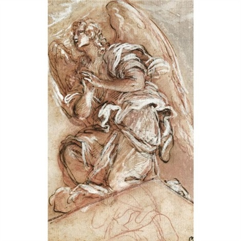 470x470 Study Of A Kneeling Angel By Giuseppe Passeri On Artnet