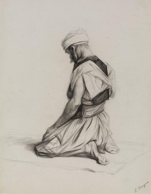 575x736 Arab Kneeling In Prayer The Walters Art Museum Works Of Art