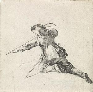 300x296 Kneeling Soldier Drawings Fine Art America