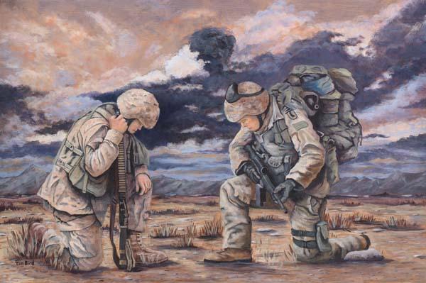 600x399 Pdf Soldier Kneeling In Prayer Plans Free