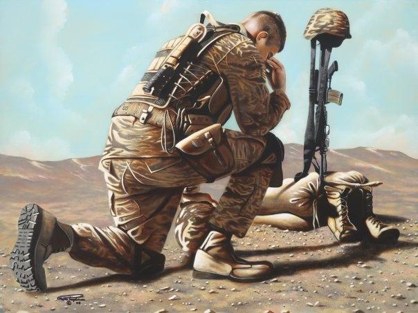 604x453 Soldier Kneeling In Prayer Image Group