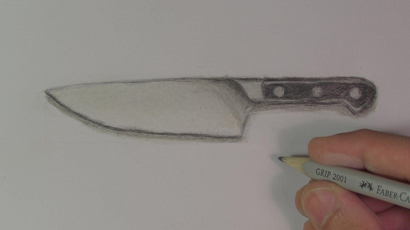 1600x899 Realistic Knife (Speed Drawing)
