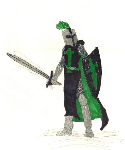 516x621 How To Draw A Knight (With Pictures)