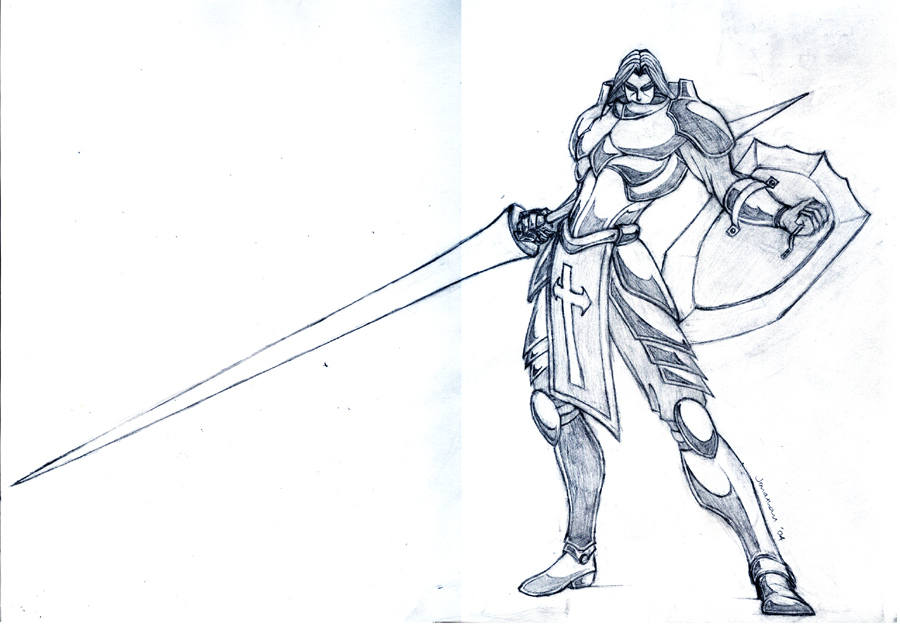 900x630 Holy Knight