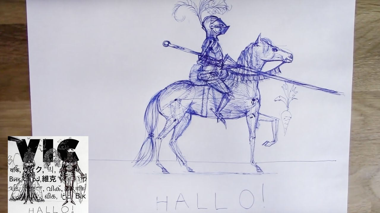 1280x720 Characteristics Of An Equestrian (Horseman) How To Draw A Knight