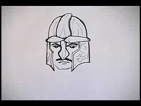480x360 How To Draw Knights How To Draw A Knight's Face