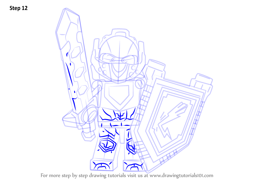 844x598 Learn How To Draw Clay From Lego Nexo Knights (Lego Nexo Knights